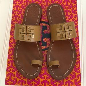 Tory Burch Lowell 2 Flat Slide Sandals
